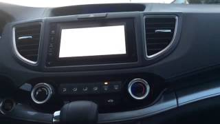 getlinkyoutube.com-2015 Honda CRV enable HDMI while driving Waze Google Maps