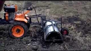 getlinkyoutube.com-Самодельный трактор (первый опыт)
