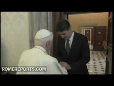 Pope meets Prime Minister of Croatia  Zoran Milanovic
