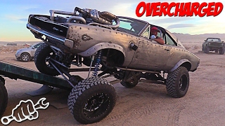 getlinkyoutube.com-Project OVERCHARGED - WelderUp Diesel Rat Rod Dodge Charger