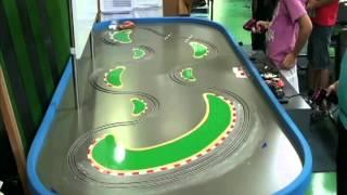 getlinkyoutube.com-Slot Car Drift 世界初!スロットカードリフトコース
