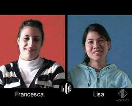 Intervista doppia Francesca - Lisa
