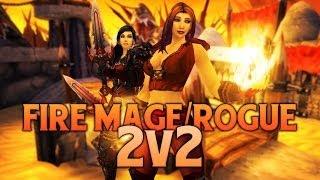 getlinkyoutube.com-Fire Mage Rogue 2v2 Arena MoP [5.4]