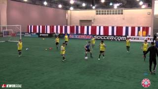 """Greg Ramos, """"Training Progressions and Variations using """"Rondo"""","""" Presented by Kwik Goal"""