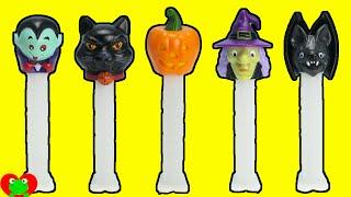 getlinkyoutube.com-2015 Halloween Pez Candy Dispensers
