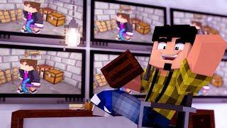 Minecraft: CÂMERA ESCONDIDA NA BASE INIMIGA ! - A SAGA Ep.8 ‹ CORUJ4 › width=