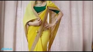 getlinkyoutube.com-How To Wear Indian Saree Perfectly:Drape Sari Step By Step Like Diva