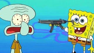 getlinkyoutube.com-Spongebob VERARSCHE - Spongebob der TERRORIST!? #2 VERARSCHE