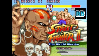 getlinkyoutube.com-1991 [60fps] Street Fighter II Dhalsim ALL