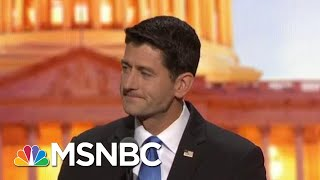 Watch Paul Ryan Own Himself For Growing The Deficit | The Beat With Ari Melber | MSNBC width=