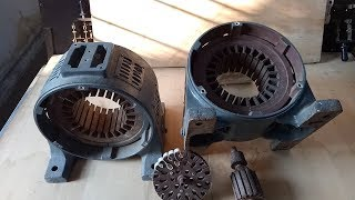 Construction of DC machine with Real Parts