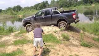getlinkyoutube.com-Ford Ranger Off Road Test Part II