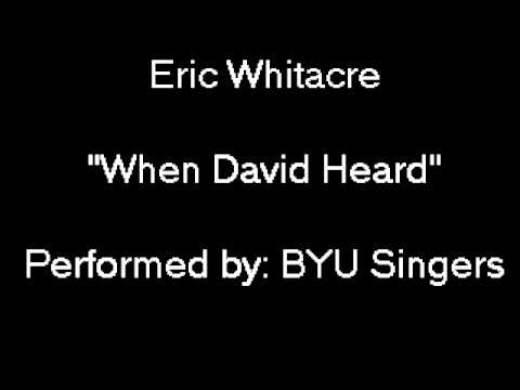 Eric Whitacre: 