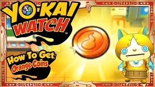 Yo-Kai Watch - How To Get Infinite Orange Coins & RARE Goldenyan EASY! [Tips & Tricks]