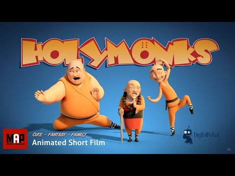HolyMonks (HD) Funny Animated Film Feat.in Sketchozine.com V.1+8 By DigitalRebel Studio