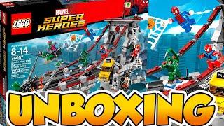 getlinkyoutube.com-Lego Super Heroes Spiderman y los Guerreros Aracnidos