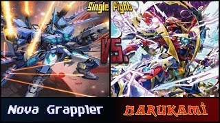 "getlinkyoutube.com-Cardfight!! Vanguard: Nova Grappler (Stern Blaukluger) vs Narukami (""THE BLOOD"")"