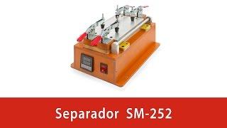 getlinkyoutube.com-Cómo separar el cristal de la pantalla LCD con ayuda del separador SM-252