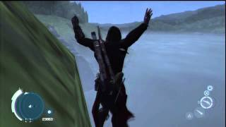 getlinkyoutube.com-Assassins creed 3, Glitches and funny moments (Part 2)