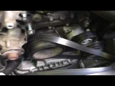 Water pump job Mercedes e320 v-6