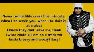 Look at me now twista version lyrics HD
