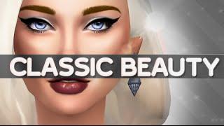 getlinkyoutube.com-The Sims 4 Create A Sim | Classic Beauty - Merrium Feliciano.