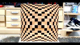 Making a 3D end grain cutting board #4