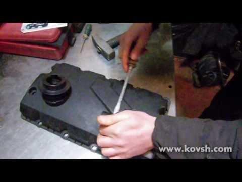 Разборка вентиляции картерных газов на Фольксвагенах с насос-форсунками