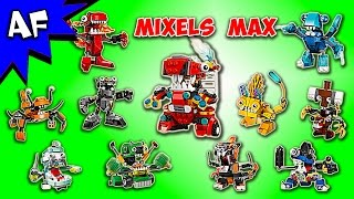 getlinkyoutube.com-Every Lego MIXELS MAX Set - Complete Collection!