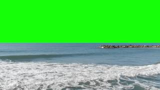 getlinkyoutube.com-5Min Green Screen Shore with sound FREE FOOTAGE AA VFX
