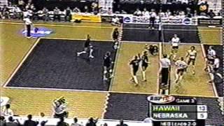 getlinkyoutube.com-2000 Final Four Hawaii vs  Nebraska:1994 Penn State vs  Alabama