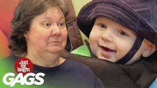 Man Breastfeeds Baby and  Blind Man Eats Worm - Throwback Thursday