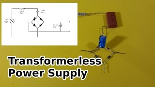 getlinkyoutube.com-Transformerless Power Supply