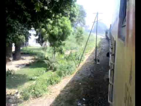 Shalimar Express at Beautiful Kotri Bridge Pakistan Railway