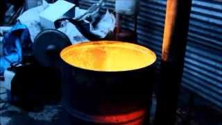 getlinkyoutube.com-Shed heater for $20 from scrap.