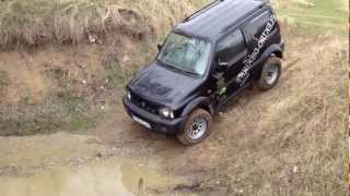 getlinkyoutube.com-Test Suzuki Jimny Offroad