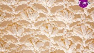 getlinkyoutube.com-Aprende Punto Flor a crochet (tutorial paso a paso)