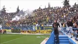 getlinkyoutube.com-AEK ATHENS ORIGINAL 21 FANS IN FOOTBALL LEAGUE 2 (AWAY GAMES)