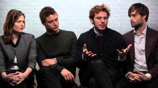 getlinkyoutube.com-Holliday Grainger, Max Irons, Sam Claflin, Douglas Booth talk THE RIOT CLUB