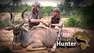 getlinkyoutube.com-Kudu and Springbok Hunt with a 30-06 Springfield: ITZ Hunting Productions Promo!