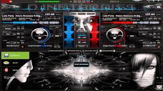 getlinkyoutube.com-Nuevo Skin Dark Elegant 3D para Virtual DJ 7 2013