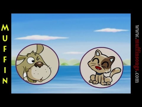 Muffin Stories - The Dog and the Cat | Children's Tales, Stories and Fables | muffin songs
