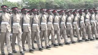 President Uhuru Kenyatta Precides over KDF passing out parrade in Uasin Gishu county