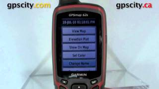 getlinkyoutube.com-A look at track logs in the Garmin GPSMap 62S with GPSCity
