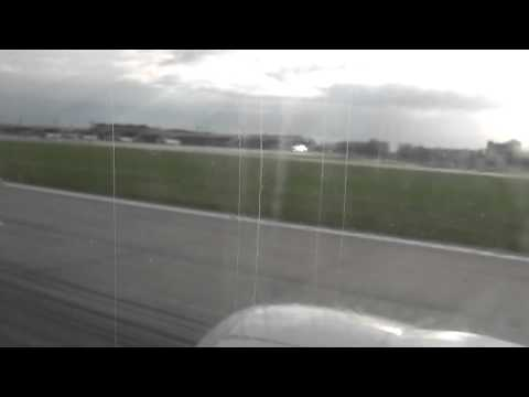Ukranian Airlines Flight PS 0354 landing at Kiev Airport, Ukraine