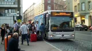 getlinkyoutube.com-Katowice, Bus to Airport from City Centre (archive)