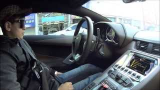 getlinkyoutube.com-람보르기니 아벤타도르 체험기 1편! Lamborghini Aventador LP 700-4 test-drive (no.1)