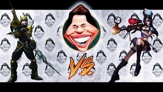 getlinkyoutube.com-VEM PRO X1 #4 - JARVAN IV vs CAITLYN - BÔNUS JOHN CENA