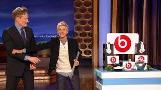 getlinkyoutube.com-Ellen Visits Conan O'Brien