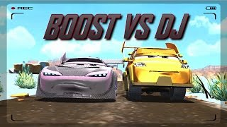 Disney Pixar Cars Fast as Lightning - DJ Stage 5/5 vs Boost (Unlocked)